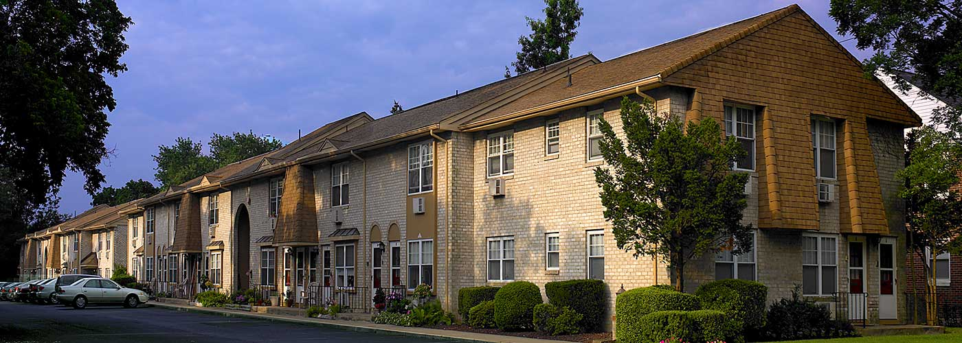 42 West Apartments in Merchantville, NJ building exterior