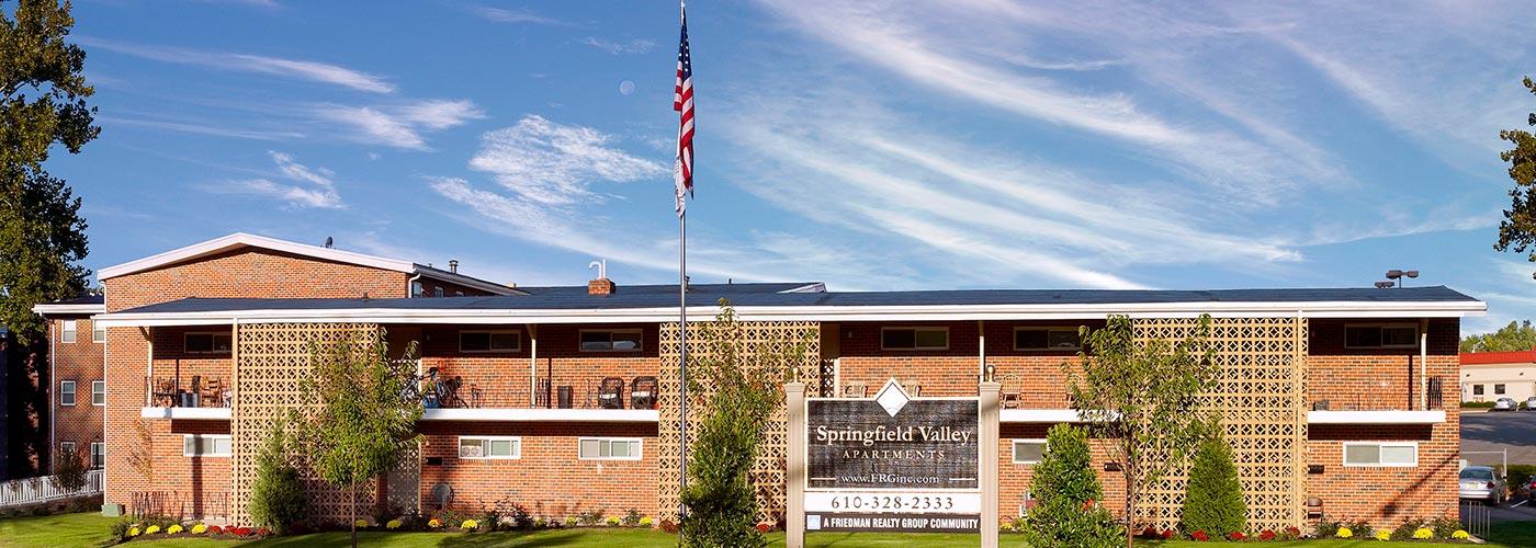 Springfield Valley Apartments building exterior