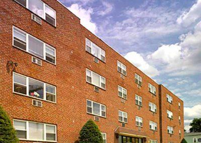 Audubon Arms Apartments exterior building