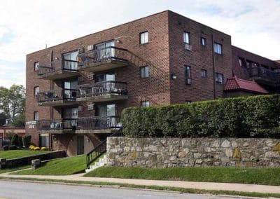 Eldorado Court Apartments building exterior