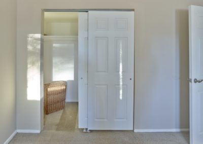 Large bedroom closet in apartment for rent in Medford, NJ