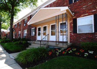 Maple Terrace Apartments building entrance