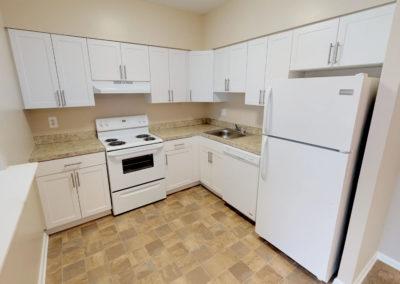 Eldorado Court Apartments 2 bedroom kitchen