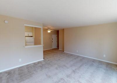 Eldorado Court Apartments 2 bedroom living space