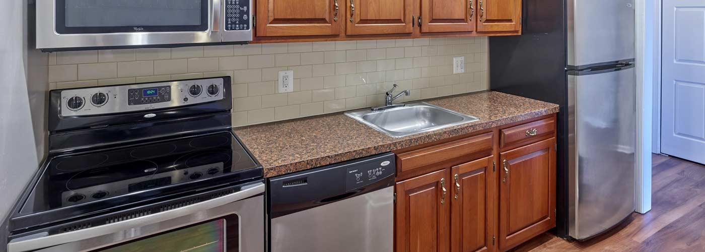 Chestnut House Apartments interior kitchen