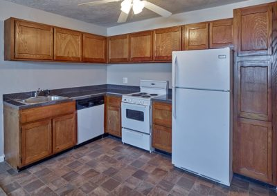 Audubon Arms Apartments apartment interior kitchen