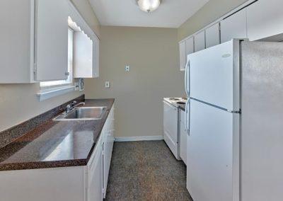 Clements Court Apartments interior kitchen