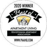 Best of Apartment Living Awarded by Pennsylvania Apartment Association